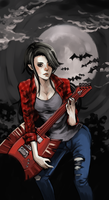 Marceline The Vampire by PhatOreo