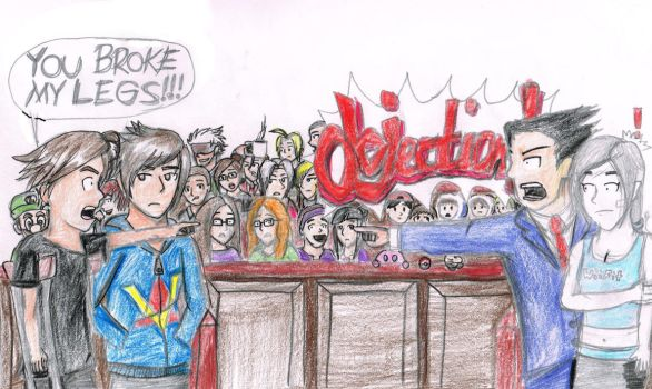 Courtroom Madness by iamthek3n