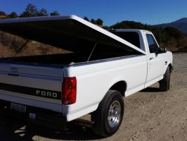 1997 Ford F250 Powerstroke tonneau and bed caps by Partywave