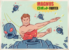 MAGNUS ROBOT FIGHTER by paintmarvels