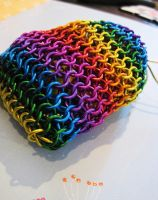 Rainbow Dice Bag by Melon-love