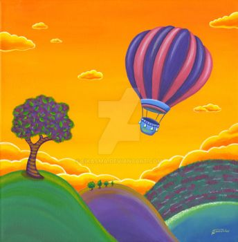 Balloon ride by eikasma