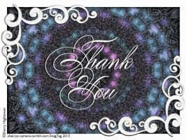 Thank you tag by Sherrys-Camera