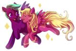 MLP: Zoey and Dee by Zilleniose