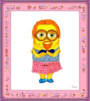 Scottish Hipster Minion by fmr0