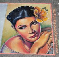 Hibiscus Fest Promo 2014 by AmazingStreetPaint