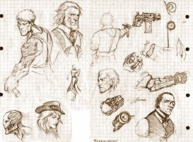 Sketches by Rayvell