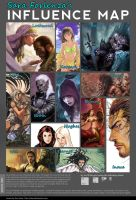 Influence Map by SaraForlenza