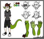 Dragon jack reference sheet .:new:. by LeoOfTheDeaD