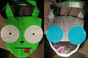 Duct Tape Gir Bag by oinkboinky