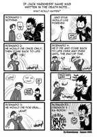 Death Note + Jack Harkness -- by alamedyang