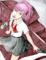 Persona 3: Pink by Rayless-Night