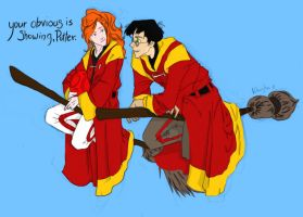 Your obvious is showing Potter by Firewhisky-Black