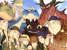 HTTYD by Pagodon