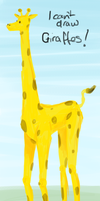 I can't draw giraffes by DonKrow