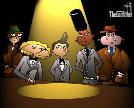 Hey Arnold -The Godfather by Graudlugh