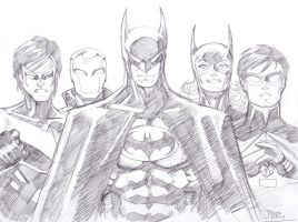 01042014 Batman Family by guinnessyde