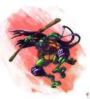 TMNT: Donatello by TheRagingSpaniard