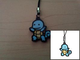 1-inch Charm - Squirtle by DivineJayce