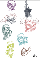 KH sketches by Heartendusk
