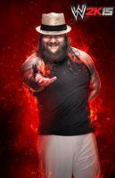 WWE 2K15 Bray Wyatt Render by ThexRealxBanks