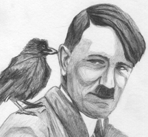 Imagine Hitler saying BIRD in the Bambi voice. by weisseblume