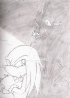 Oct. 14 - 'Shadows' - Sonic by ChibiAnimeLuver