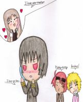 APH: 2p!Chibi Love~ by thebigblackdevil5