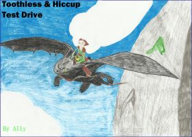 Toothless n Hiccup: Test Drive by Cool-Ally