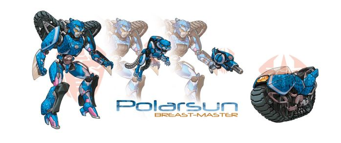 PolarSun commission by a-loft-on-cybertron
