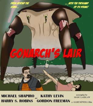 Gonarch's Lair poster by Lilgreenmen