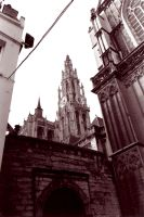Cathedral in Antwerp by CiNiTriQs