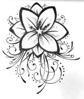 My tat first draft by TheMajesticCarnival
