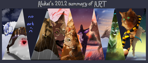 2012 summary of Art by Alukei