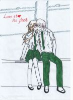 Love at its finest by ballpennidenny