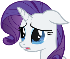 Sad Rarity by anitech
