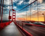 San Francisco, Golden Gate walk by alierturk