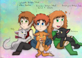 The Northern Irelands and their cats by Kimanda