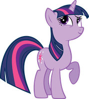 Twilight Sparkle Vector by piranhaplant1