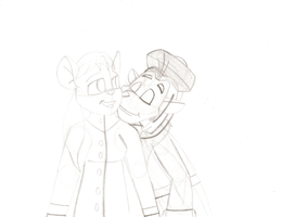 RAR WIP: A Kiss From My King by MouseAvenger