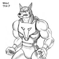 Wolf from Gargoyles by MDTartist83