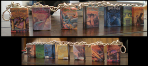 Harry Potter charm bracelet by kamiiyu