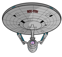 The USS Enterprise by DaveMilburn