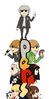 Persona 4 Bookmark by Stuberosum