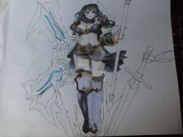 Sivir in Process by Guardian-of-Illusion