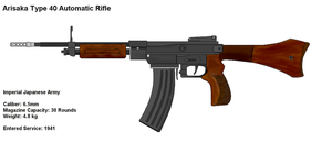 Type 40 Automatic Rifle IJA by PaintFan08