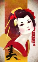 Maiko san by evikted