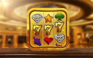 Slot Machine Game Icon by obsid1an