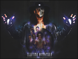 Royal Rumble 2011 Poster by UraTHRenge
