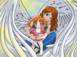 Mothers Embrace by tifa-bells